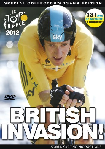 Tour de France 2012: British Invasion - featuring Bradley Wiggins (Deluxe 13 Hour Edition) [DVD]