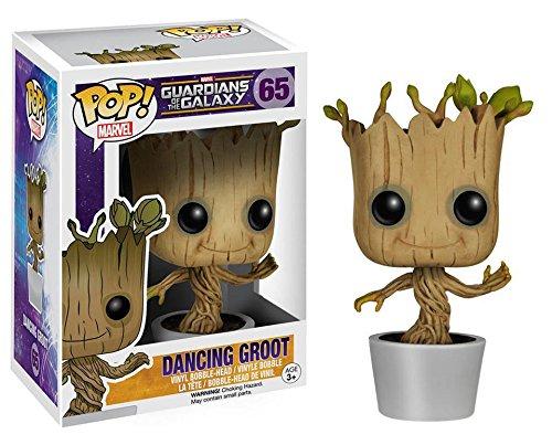 Funko POP! Marvel Guardians of the Galaxy Dancing Groot Bobble Vinyl Figure 65#
