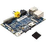 Banana Pi Dual core Raspberry Pi-like devepment board with Gigabit ethernet port, SATA port
