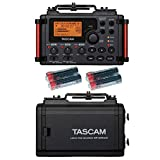 Tascam DR-60DmkII 4-Channel Portable Recorder for DSLR Filmmakers with 4 Free Universal Electronics AA Batteries