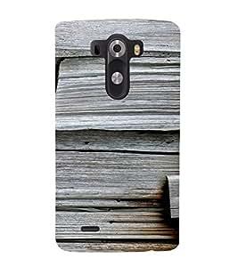 PrintVisa 3D Wooden Pattern 3D Hard Polycarbonate Designer Back Case Cover for LG G3