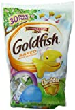 Pepperidge Farm Snack-Size Easter Goldfish Crackers Cheddar Polybag, 30 count, .4 oz bags