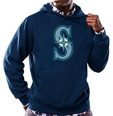 Seattle Mariners MLB Men's Scoring Position Hooded Fleece Pullover