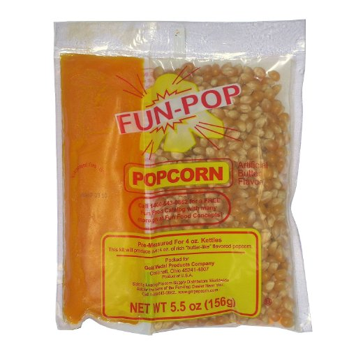 Gold Medal Fun-pop Popcorn Kit (Net weight 5.5 oz.) - 36 pk. (Gold Metal Popcorn Kit compare prices)