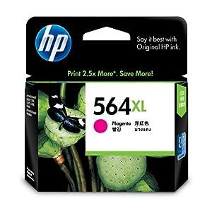 HP 564XL CB324WN#140 Ink Cartridge in Retail Packaging-Magenta