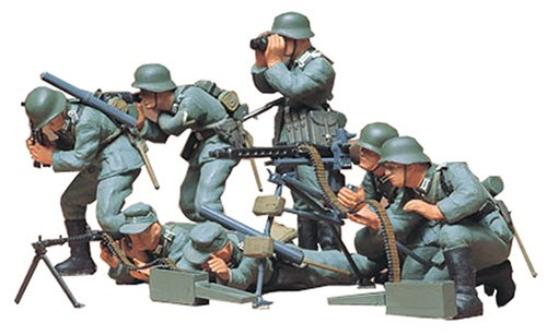 Tamiya German Machine Gun Troops - 1