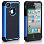 iPhone 5C Case, AUMI Hybrid Dual Laye...