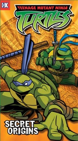 Teenage Mutant Ninja Turtles - Secret Origins (Vol. 10) [VHS] - 1