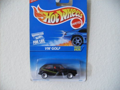 Hot Wheels Vw Golf # 474 with Fahrvergnugen and Wire Spokes