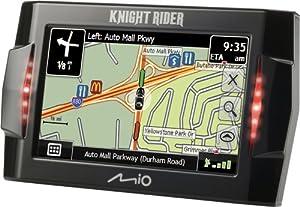 Mio Knight Rider 4.3-Inch Portable GPS Navigator