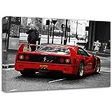 Ferrari Enzo 360 F40 Canvas Art Print Poster