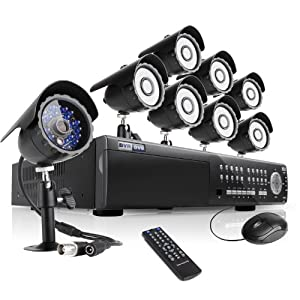 New Arrival! Zmodo 16 Channel All D1 High Profile HDMI SDVR(Super Digital Vidoe Recorder) Security Surveillance Camera System With 8 Sony CCD Sensor CCTV Surveillance Cameras 2TB Hard Drive