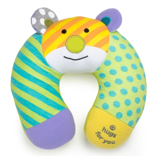 Britto Bebe From Enesco Baby Travel Pillow, Bear (Discontinued by Manufacturer)
