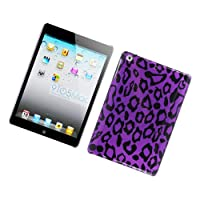 Eagle Cell PIIPADMINIG2D171 Stylish Hard Snap-On Protective Case for iPad mini - Retail Packaging - Purple Leopard from Eagle Cell