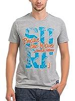 JACK WILLIAMS Camiseta Manga Corta (Gris)