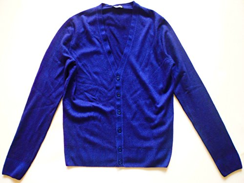 dirk-bikkembergs-pull-gilet-en-maille-homme-bleu-imperial-blau-medium-bleu-medium