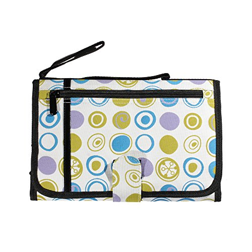 Cuddles Portable Diaper Changing Pad Station - For Short And Long Travel - Unisex Design - BPA Free And Phthalate Free - 100% Satisfaction With Lifetime Guarantee