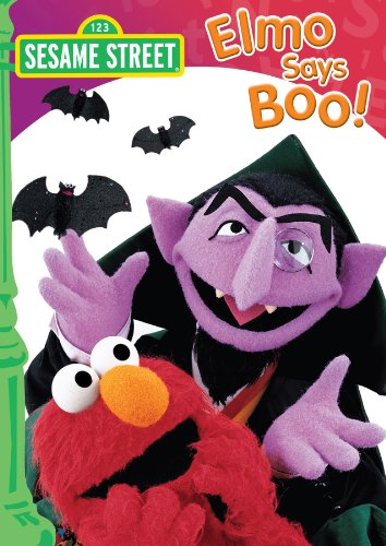 elmo says boo Sing along to a dozen halloween monster medleys with elmo (31-minute album.