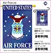 "Air Force Garden Flag Indoor/outdoor 13.5"" X 18"""