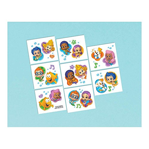 Bubble Guppies Temporary Tattoos (1 Sheet)
