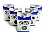 New and Improved Super Stop Disposable Cigarette Filters - 5 Packs (Blue)