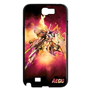 FindIt Japanese Anime Series Popular And Multicolor Mobile Suit Gundam 00 Durable Case Cover For Samsung Galaxy Note 2 N7100