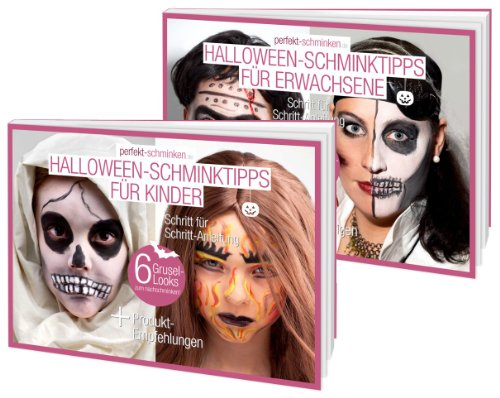 Halloween-Looks - spektakuläre Schminktipps für den 31. Oktober (German Edition) (Halloween Looks)