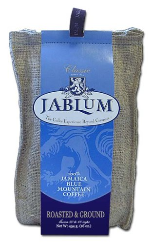 Jablum Jamaica Blue Mountain Coffee, Ground, 16 oz bag