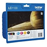 Brother MFC-5490 CN (LC-1100 VAL BP) - original - Inkcartridge multi pack (black, cyan, magenta, yellow) - 325 Pages
