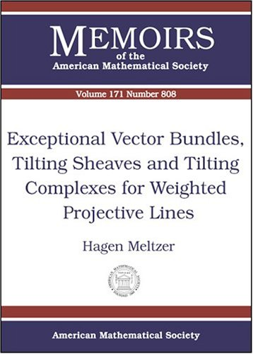 Exceptional Vector Bundles, Tilting Sheaves and Tilting Complexes for Weighted Projective Lines (Memoirs of the American Mathematical Society)