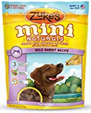 Zukes Mini Naturals Dog Treats, Wild Rabbit Recipe, 6-Ounce