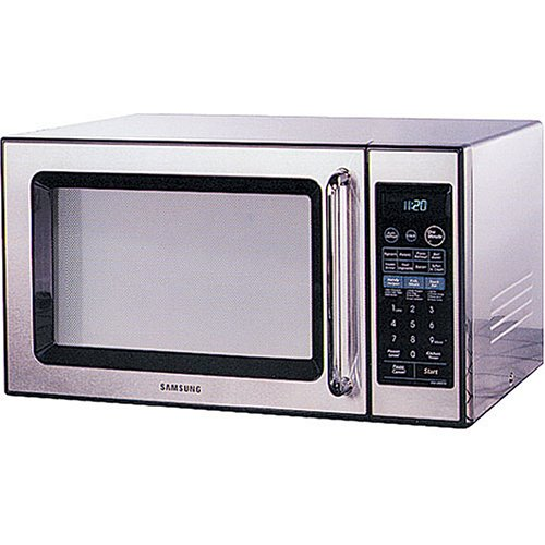 Countertop Microwave What To Look For : ... SAMSUNG MW1280STA Mid-Size Countertop Microwave Oven: Kitchen & Dining