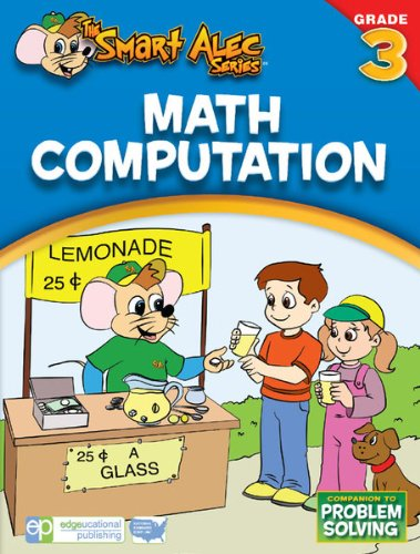 The Smart Alec Series Math Computaion Grade: 3 - one color, one size - 1