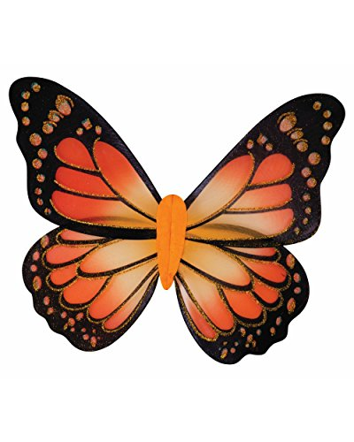 Womens Sexy Missy Monarch Butterfly Fairy Wings Costume Accessory