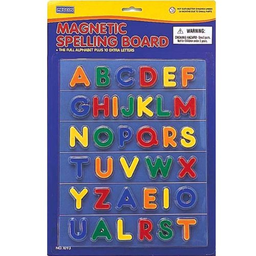 megcos Magnetic Spelling Board