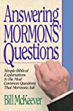 Answering Mormons Questions