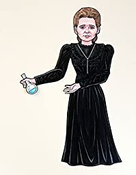 Marie Curie Articulated Paper Doll