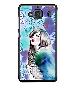 PRINTSWAG BEAUTIFUL GIRL Designer Back Cover Case for XIAOMI REDMI 2