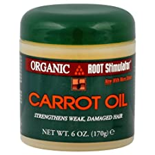 Organic Root Stimulator Carrot Oil, 6 oz.