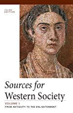 Sources of Western Society, Volume 1
