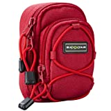 BAXXTAR REDSTAR Digital Camera Bag Case * RED * for Canon PowerShot SX600 SX280 SX270 SX260 S120 IS - Nikon Coolpix AW120 S31 S32 S9600 S9500 - Samsung WB250F WB350F -- Sony CyberShot DSC HX50V HX60V RX100 -- Panasonic Lumix DMC TZ55 TZ40 TZ35 -- Kodak E