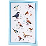 Birdsong Linen Tea Towel