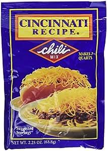 6 Pack Cincinnati Chili Mix Packets