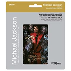 Thriller 25th Anniversary (Digital Download Album Card-MusicPass)