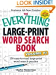 The Everything� Large-Print Word Sear...