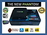 PHANTOM QUAD CORE M8 Android 4.4 Kitkat XBMC Streaming Mini HTPC TV Box Player, UK adapter included***FULLY LOADED***NEW 2014 VERSION, XBMC PLUG AND PLAY, GENIUNE HOLOGRAM NOT A COPY WITHOUT HOLOGRAM*** OURS IS ONLY UNIT WHICH HAS FULL FACTORY RESET OPTION,WHICH BRINGS IT BACK TO FULLY LOADED***