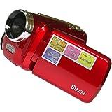 Buyee 12MP 720P Video Recording Mini Digital Video Camera DV Camcorder 4x Digital zoom White LED Light
