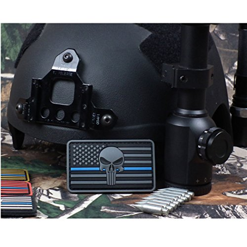 Learn More About The Thin Blue Line Devgru Seal Team Punisher American Flag Pubnisher 3d PVC Velcro ...
