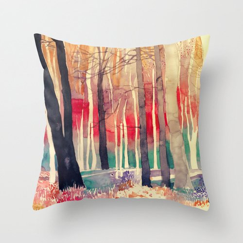 Loveloveu 16 X 16 Inches / 40 By 40 Cm Watercolor Pillow Cases,each Side Is Fit For Wife,floor,deck Chair,wedding,car,living Room