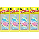 Little Trees Cotton Candy Air Freshener, (Pack of 24)